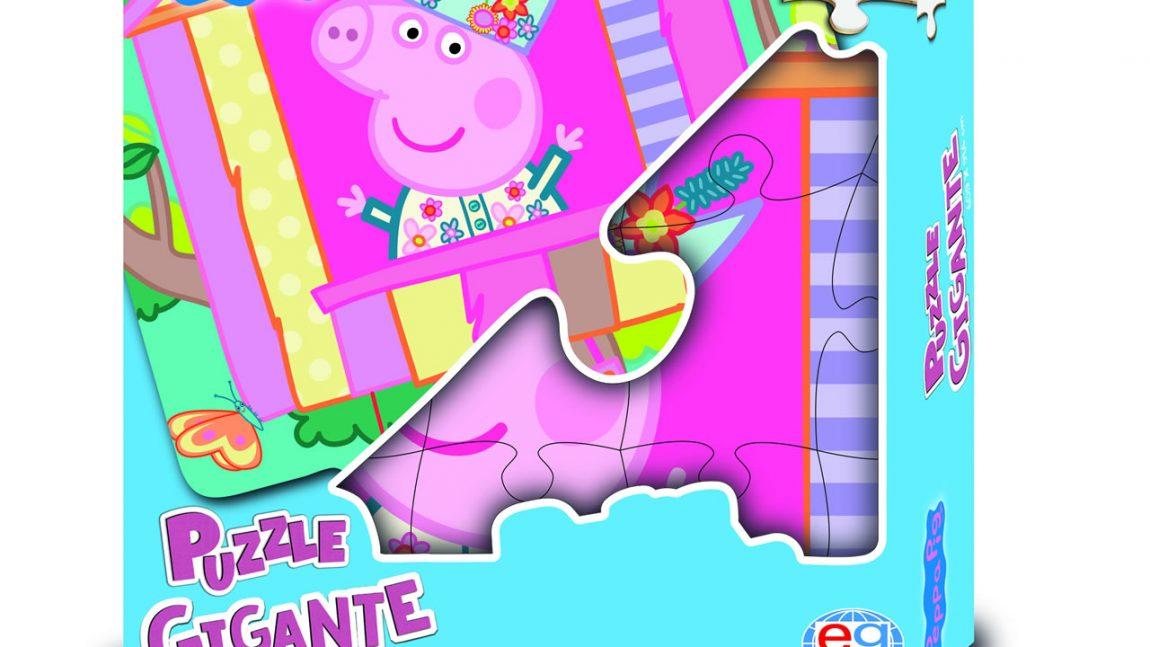 PEPPA PIG Puzzle Gigante in cartone 46 pz