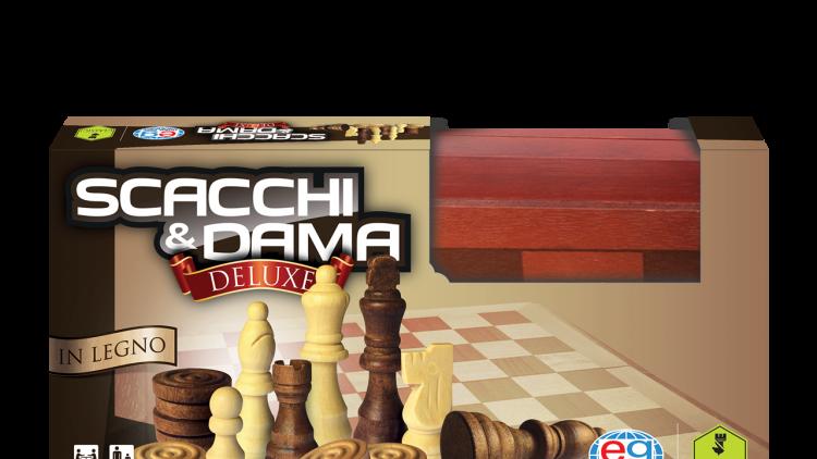 Dama & Scacchi in Legno Deluxe