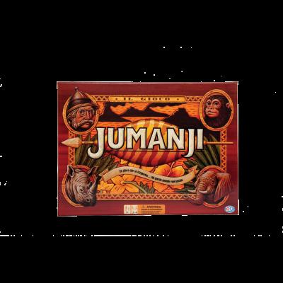 Jumanji in cartone