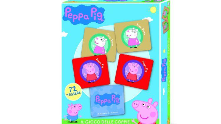 PEPPA PIG Il Gioco delle Coppie 72 schede
