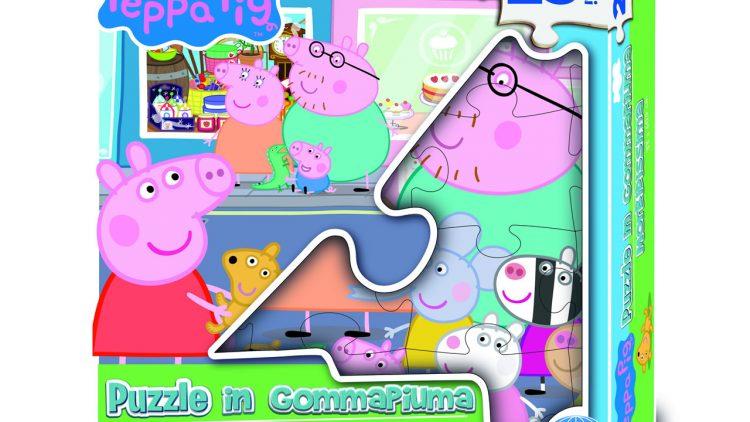 PEPPA PIG Puzzle in gommapiuma 25 pezzi